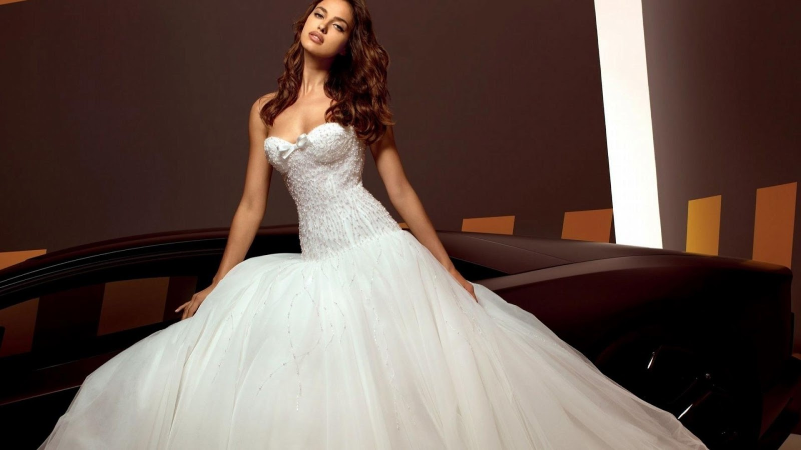 27 Awesome Simple Wedding Dresses For Cute Brides: Wallpapers: Irina-Shayk-2013-HD-Wallpaper