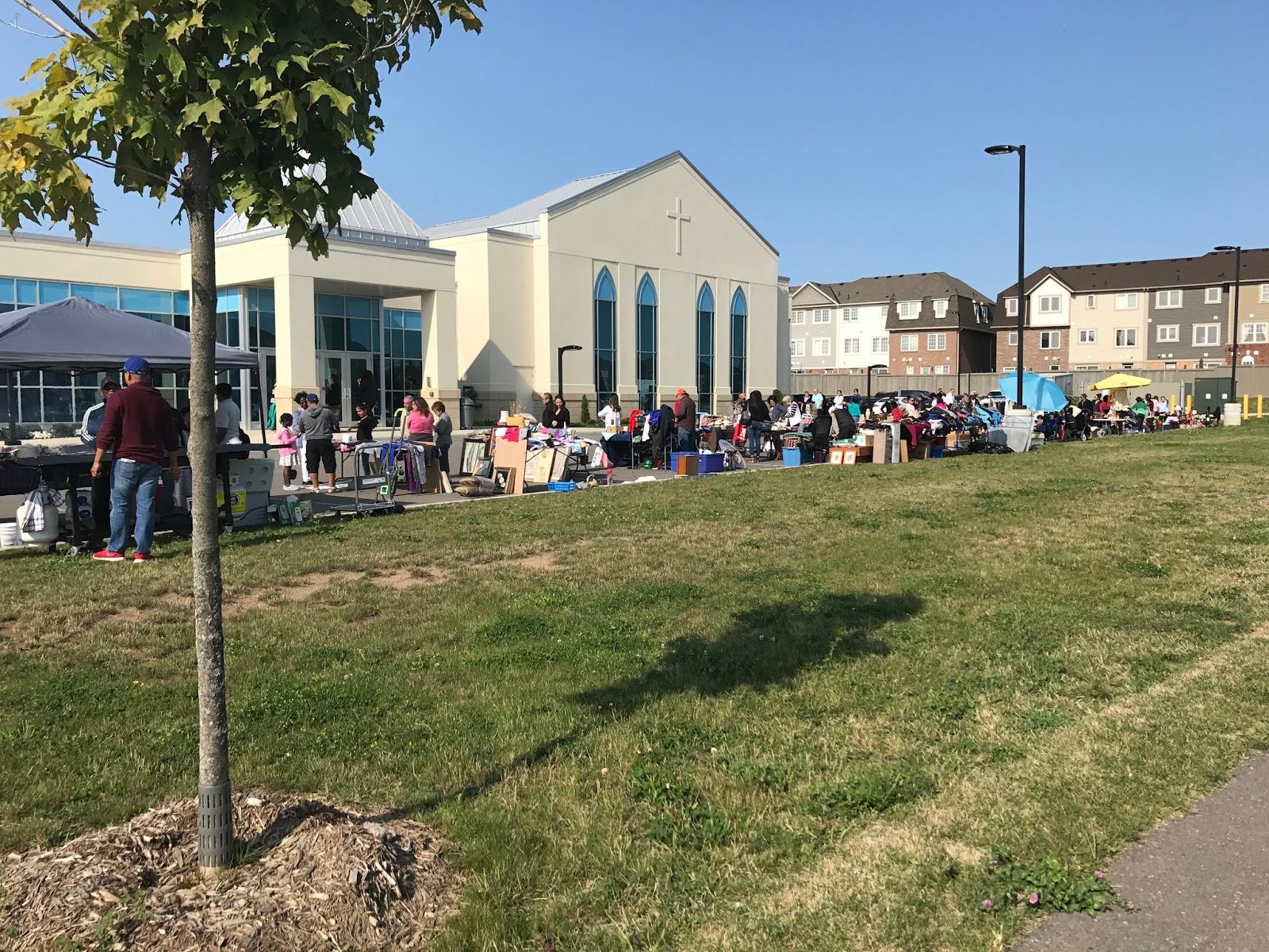 GARAGE SALE SERIES 2017 #7- CHURCH GARAGE SALE | FEBETH ( Diary of a