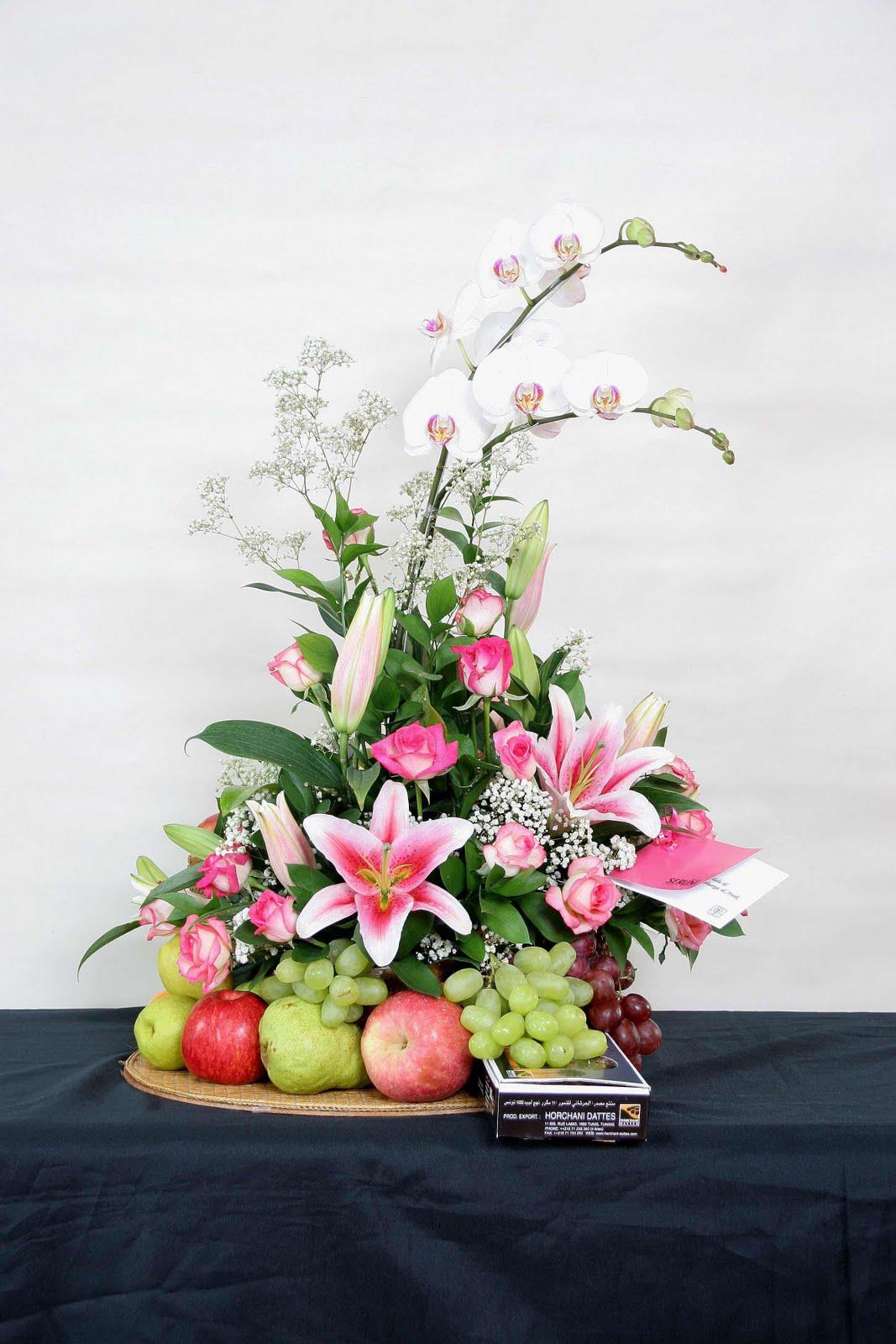 Puri Bunga Seruni Rangkaian Bunga Dan Rangkaian Buah