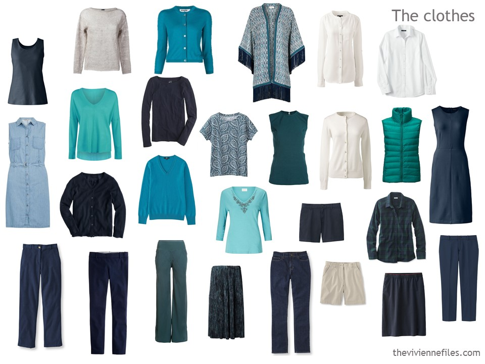 12 Months 12 Outfits In A Navy Based Capsule Wardrobe An