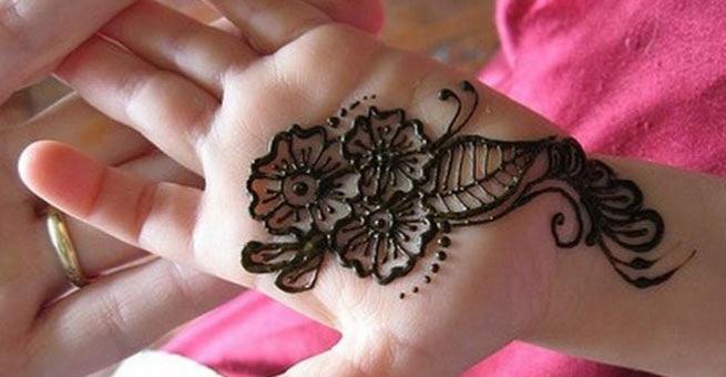 Kids Henna Design
