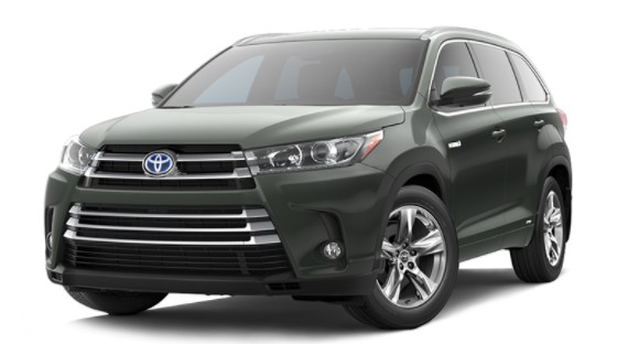 2019 Toyota Highlander XLE V6 AWD (Natl) Specs and Features