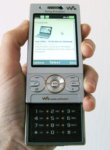 Điện thoại Sony Ericsson W705