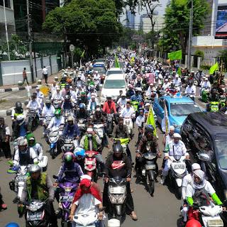 Demo Tangkap Ahok Sepi Pemberitaan