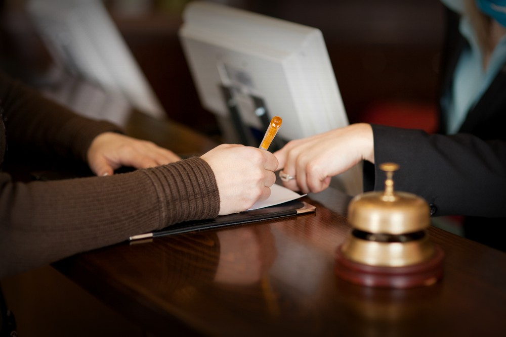 hotel front desk agent