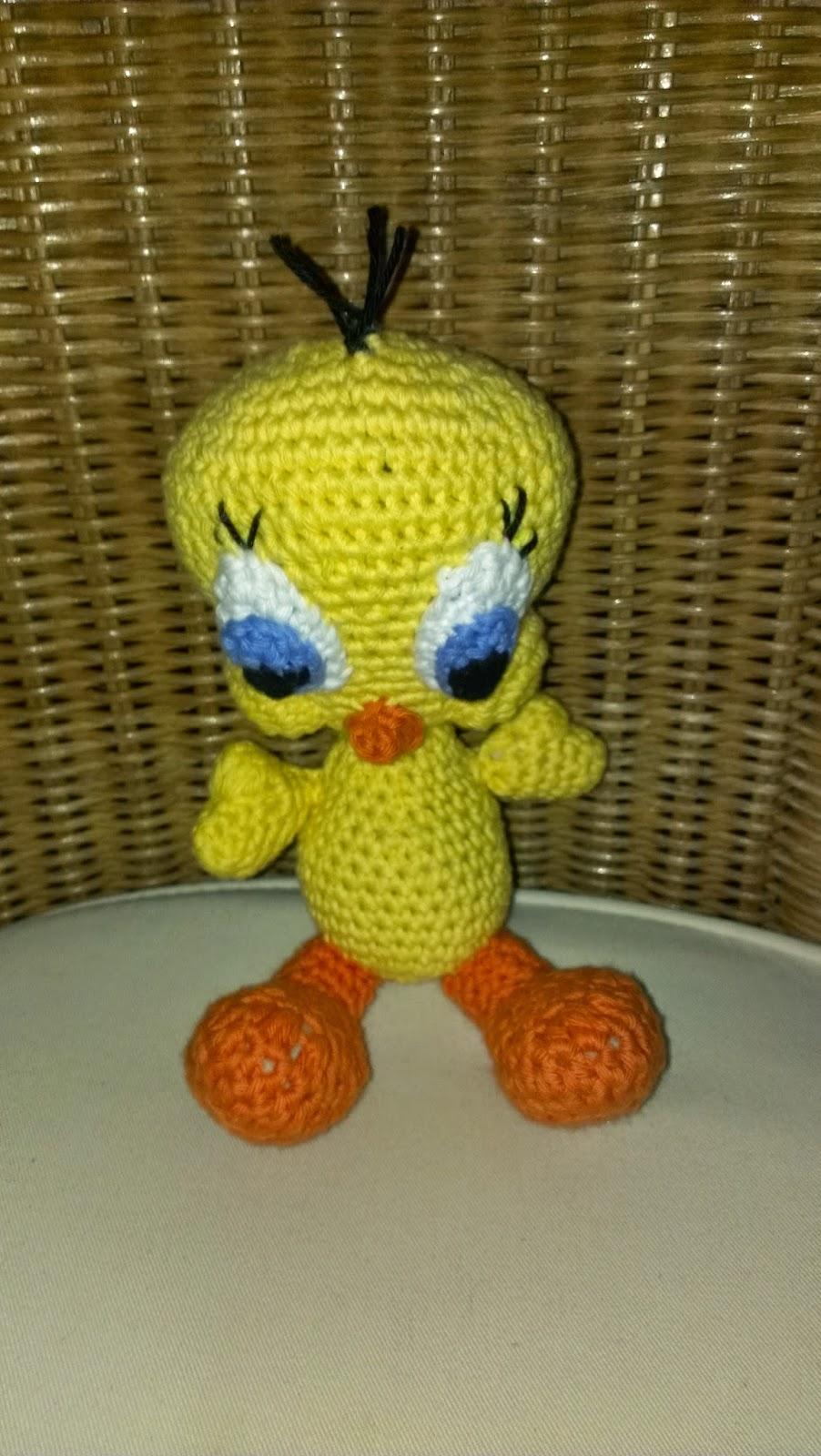 Zan Crochet: Amigurumi Tweety   1600x902