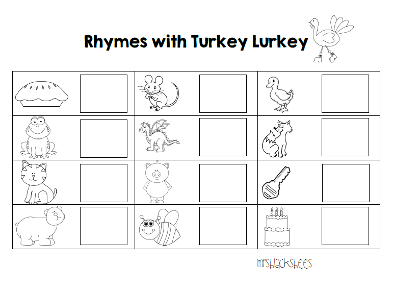 Mrs. Black's Bees: Print and Go~ Thanksgiving Printables