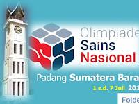 Sumatera Barat Tuan Rumah OSN Tingkat Nasional Tahun 2018 : 1-7 Juli 2018