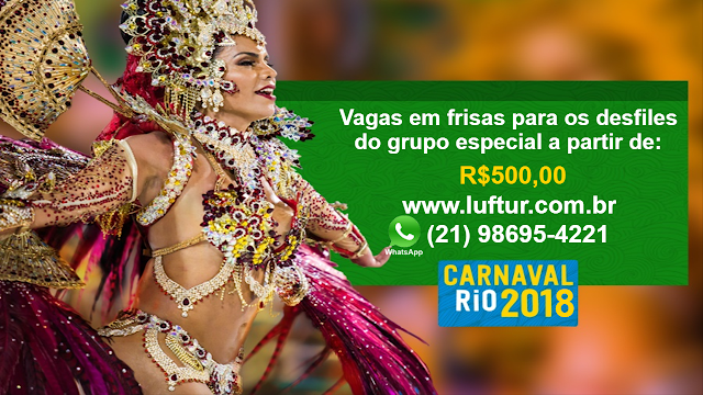 Ingressos carnaval 2018 - Garanta já o seu ingresso