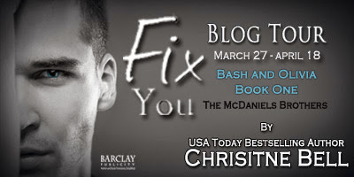 My Reading Room: Fix You by Christine Bell Blog Tour and Review