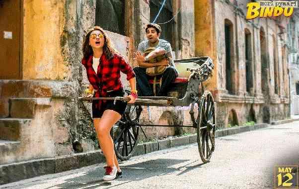 Meri Pyari Bindu Film, Ayushman Khurana In Kolkata