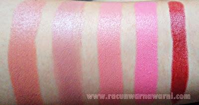 Swatch Lipstik Pilihan