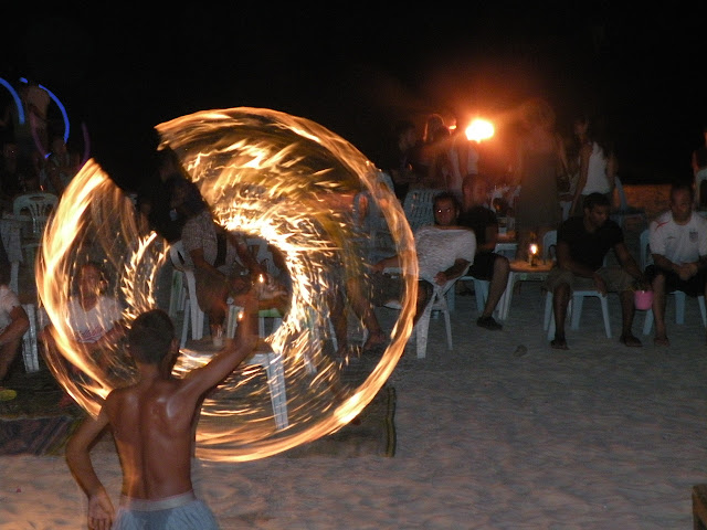 Koh Phangan Full Moon Party dates: fire show