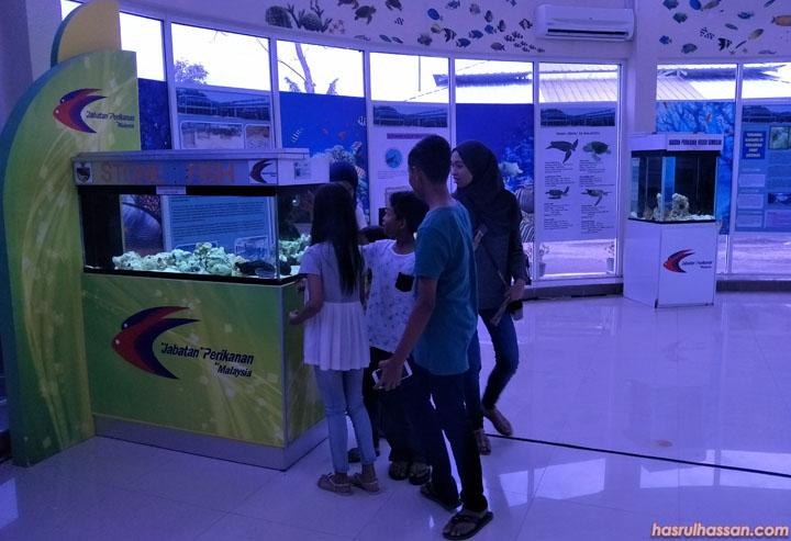 Tempat menarik bercuti - Pusat Ikan Hiasan, Teluk Kemang Port Dickson