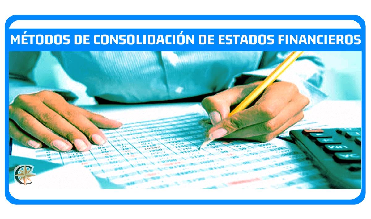 Métodos de consolidación de estados financieros