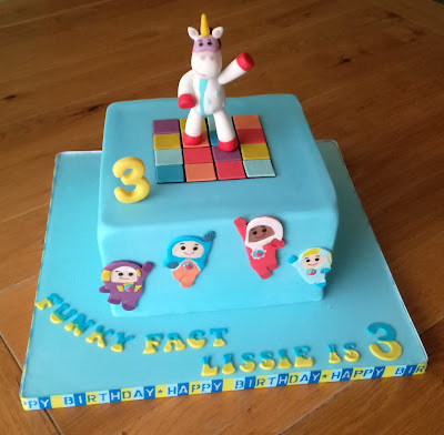 How To Make A Go Jetters Cake