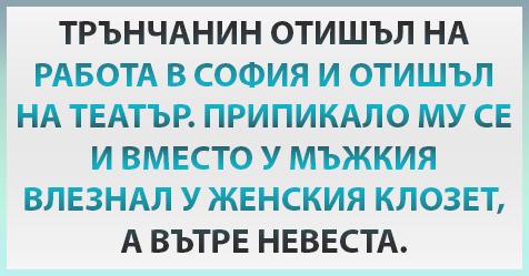 [Готин ВИЦ] Трънчанин отишъл на работа в София