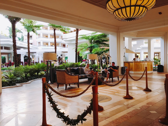 Grand Wailea checkin