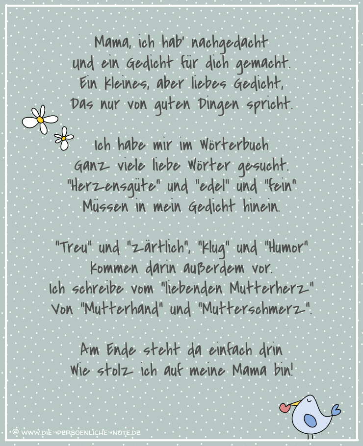 Lustige Gedichte Zum Geburtstag Von Kindern