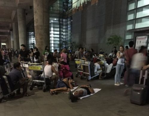 Five-hour power outage hit NAIA Terninal 3 on Saturday night