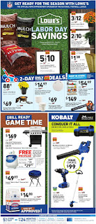 Lowe's Weekly Ad September 5 - 11, 2019