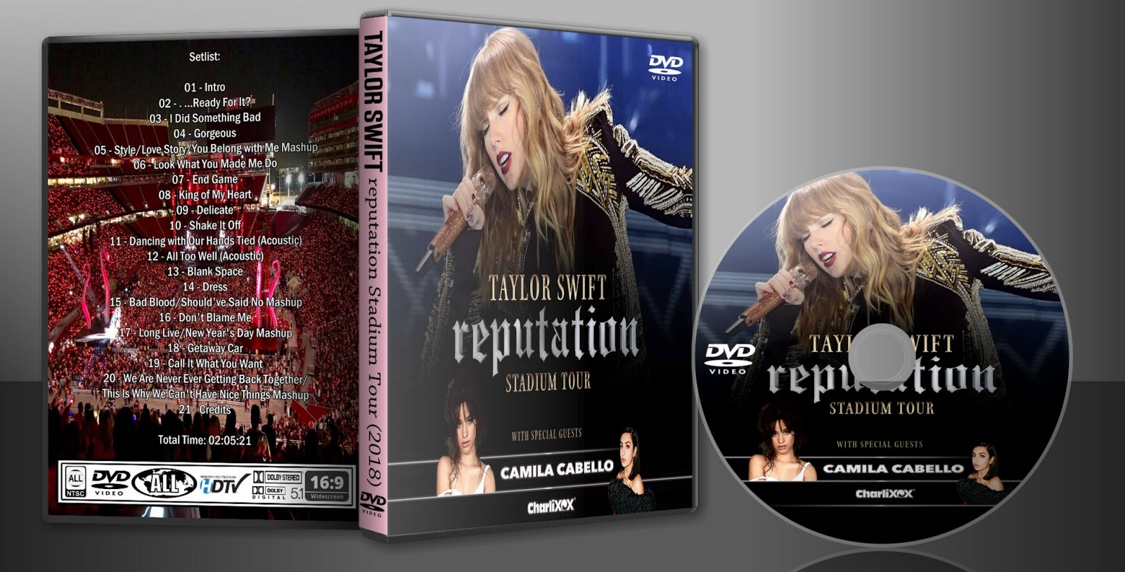Deer5001RockCocert: Taylor Swift - 2018 - reputation ...