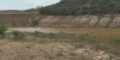 Açude que abastece Nova Palmeira recebe bom volume de água