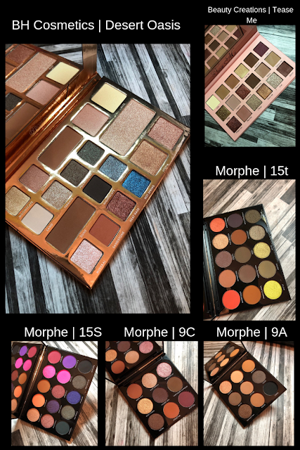 Affordable Eyeshadow Haul (BH Cosmetics, Beauty Creations, Morphe)