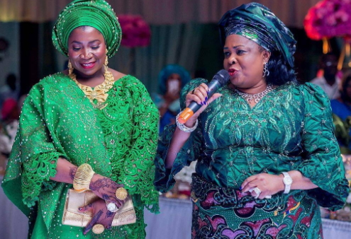 patience jonathan wedding abuja