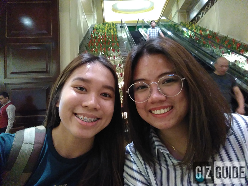 Huawei Y6 2018 Indoor selfie