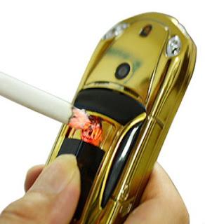Hape Mobil Unik Newmind Y918 Fitur Pemantik Api Rokok