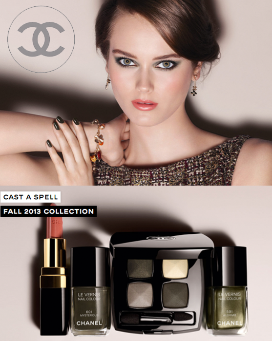 Chanel Fall 2013 Makeup Collection
