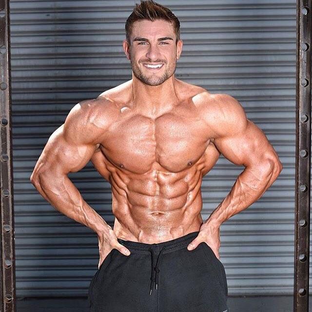 Bodybuilding models: Ryan Terry - Bodybuilding Model Workout