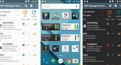 تطبيق WiFi Manager للتحكم بشبكات الواي مدفوع للاندرويد