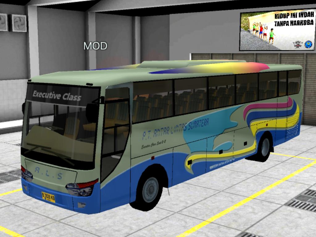 Old ALS Celcius Bus - SKIN & LIVERY DRIVING SIMULATOR
