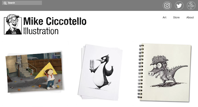 Mike Ciccotello - Picture book Illustrator