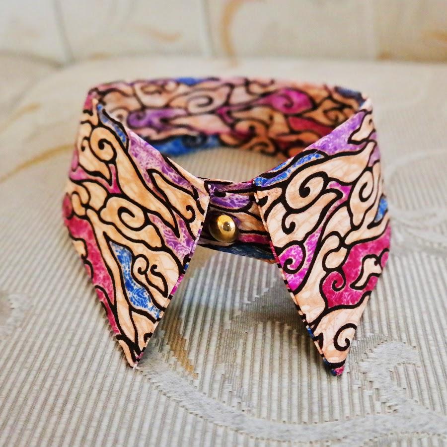 STEPHANIE Wedding Bride: Mega Mendung Batik Shirt Collar
