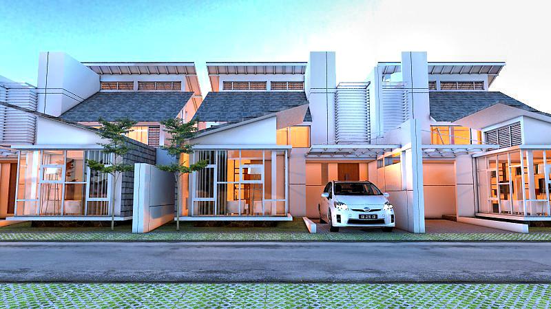Desain Rumah KD Residence Karya Eko Cahyo Saputro