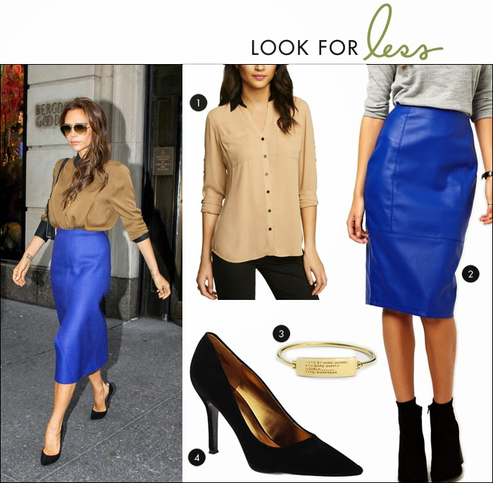 leather skirt, victoria beckham, express, portofino shirt, marc jacobs, nordstrom, nine west, pumps, piperlime