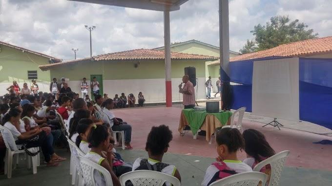 SEPROMI, inicia ciclo de palestras nas escolas municipais sobre a História do Samba