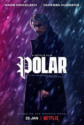 Mads Mikkelsen polar poster