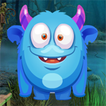 Games4King Blue Monster Rescue