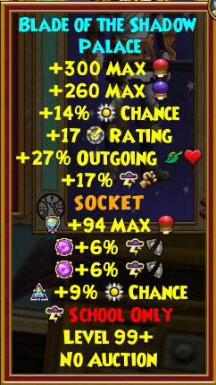 Best Storm Gear (Level 120+) | Wizard101