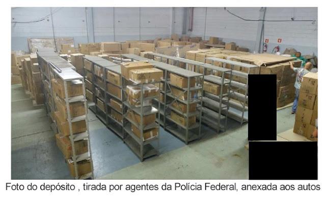 Resultado de imagem para foto de bens guardados no BB