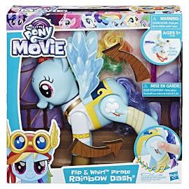 My Little Pony Flip & Whirl Pirate Rainbow Dash Rainbow Dash Brushable Pony