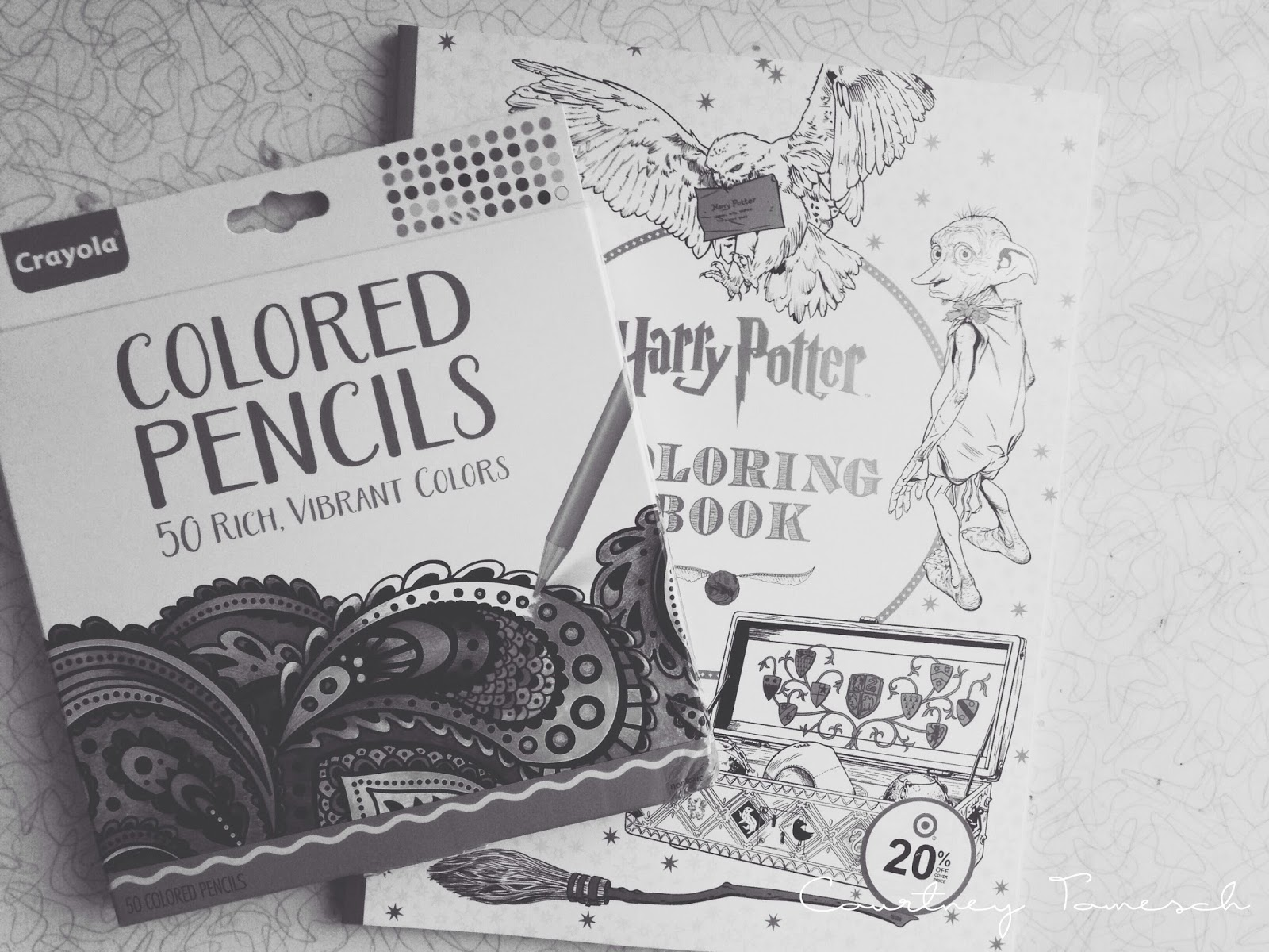 Courtney Tomesch Harry Potter Coloring Book