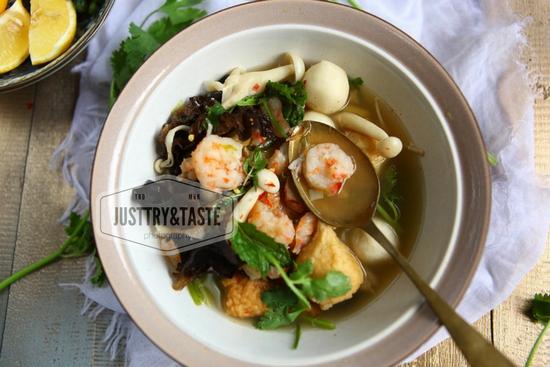 Resep Sup Tom Yam Kuah Bening