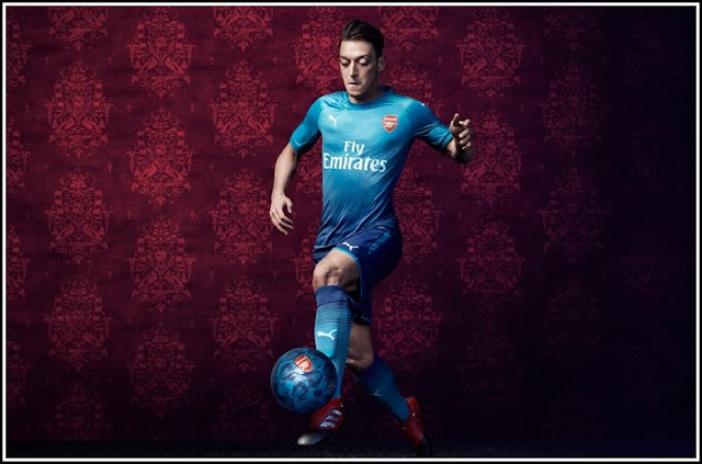 Arsenal 17-18 Away Kit Puma Original