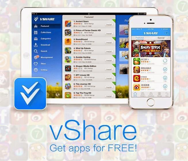 vshare in app purchases