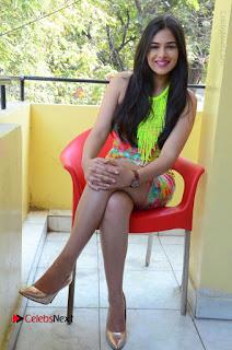 Telugu Actress Prasanna Stills in Short Dress at Inkenti Nuvve Cheppu Press Meet Stills  0178.JPG